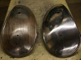Before & After Chrome Plating